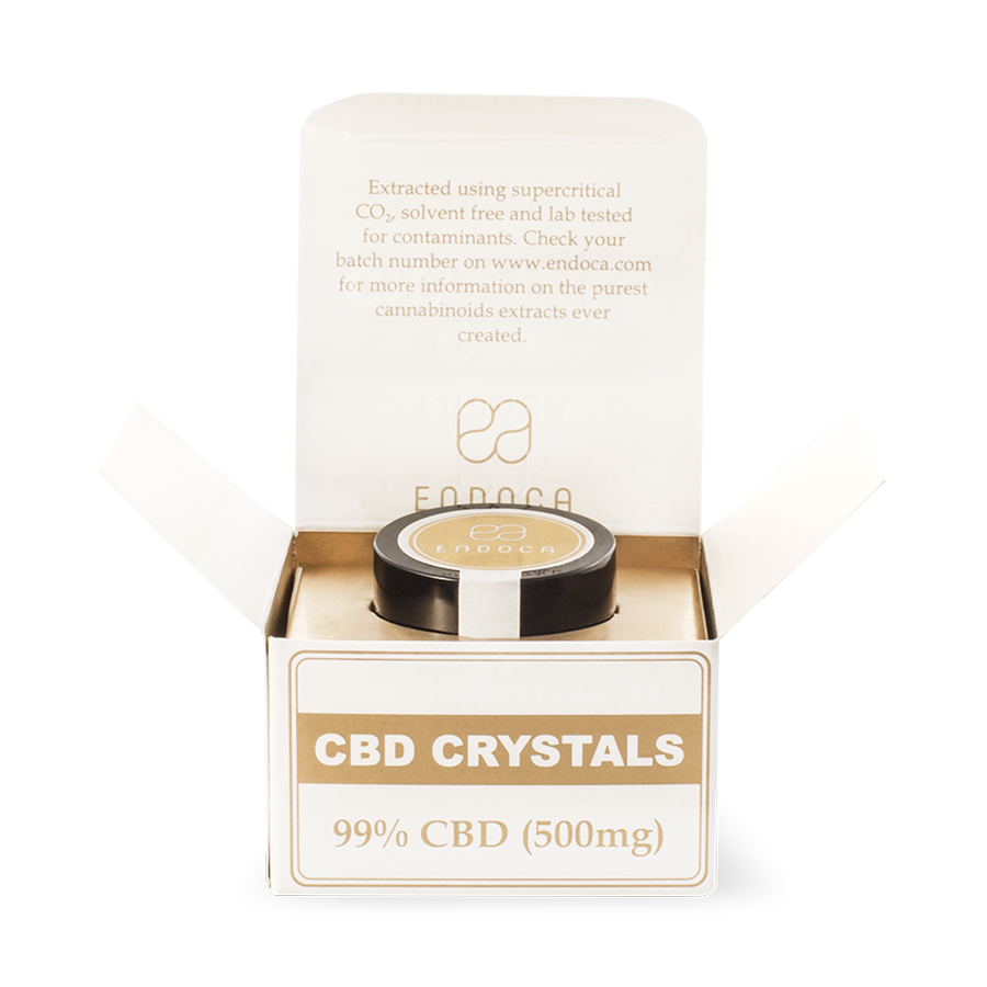 Cannabis Crystals 99% CBD (Pure CBD) - 500mg
