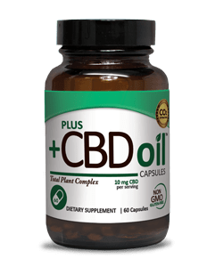 CBD Oil Capsules 10mg - 60ct