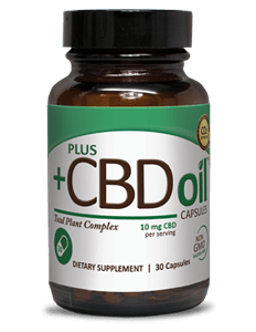 CBD Oil Capsules 10mg - 30ct