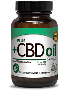 CBD Oil Capsules 15mg - 60ct