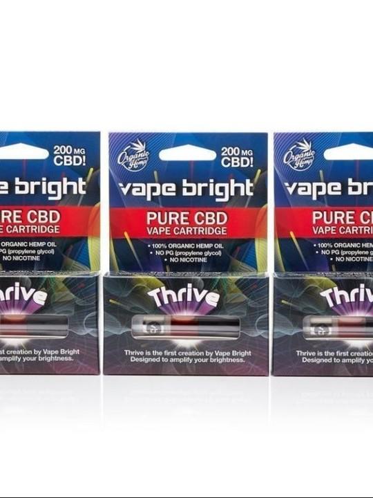 Thrive CBD Vape Cartridges 600mg -3 pack