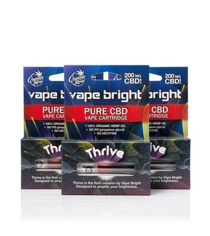 Thrive CBD Vape Cartridges 600mg -3 pack