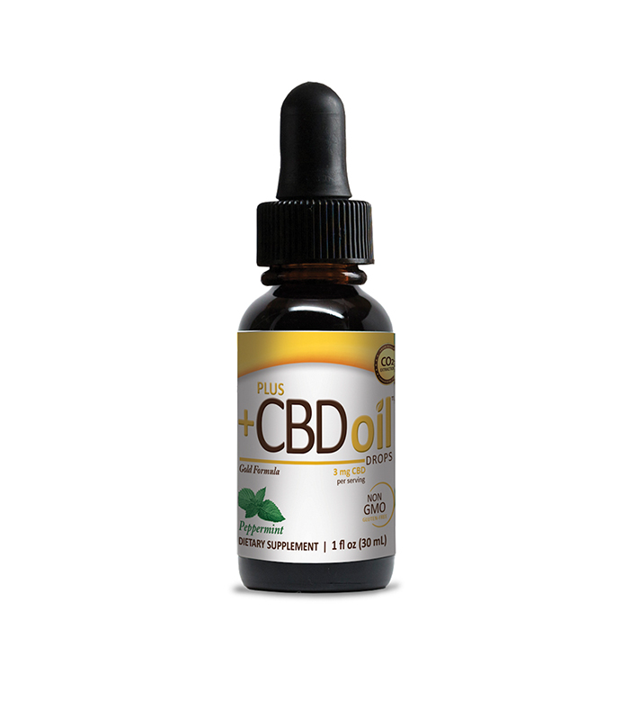 CBD Oil Drops Peppermint -1oz 250mg