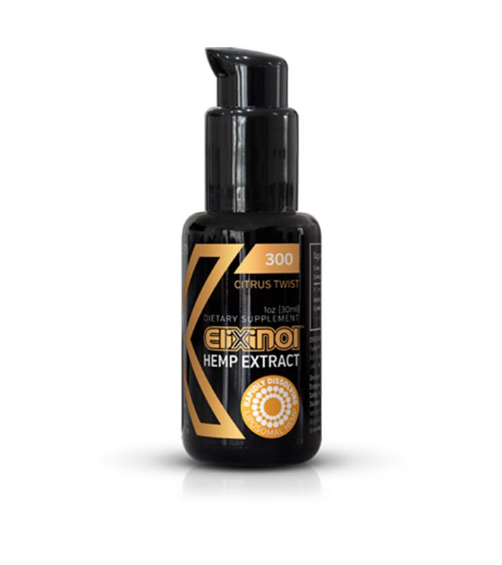 Citrus Twist Hemp Oil Liposomes 300mg 1oz
