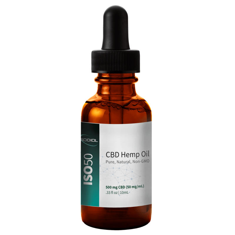 ISOConcentrate™ CBD Hemp Oil Tincture - 10ml bottle