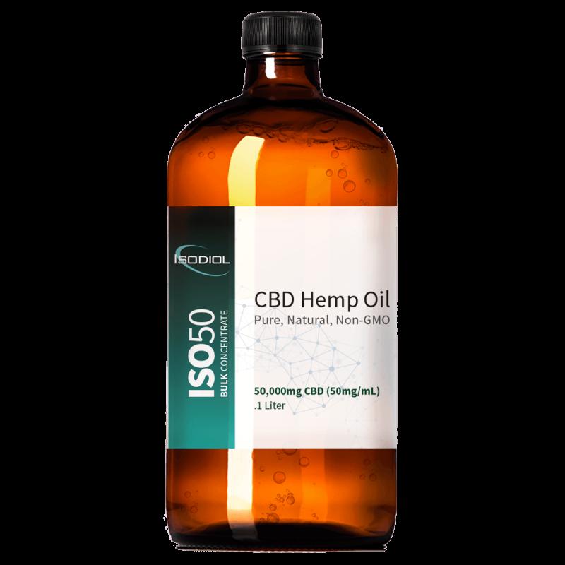 ISOConcentrate™ CBD Hemp Oil Tincture - 1 Liter