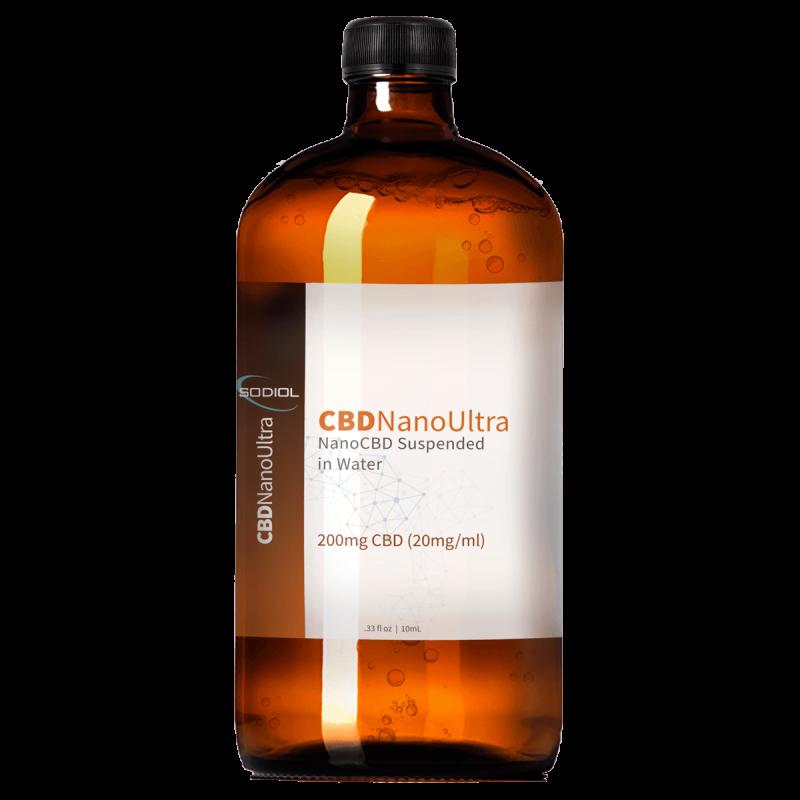 CBDNanoUltra™ Pure NanoCBD - 1 Liter Bulk