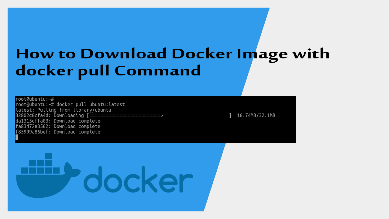 How to Download Docker Image with docker pull Command