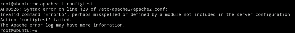 Apachectl Configtest: Test configuration files for errors