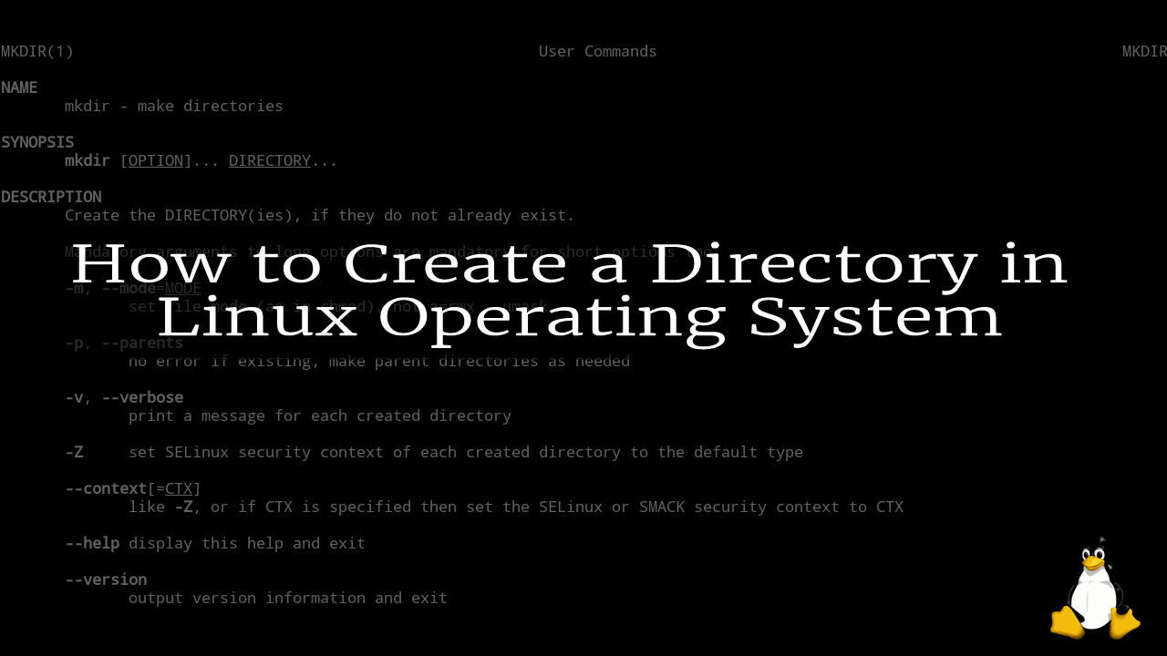 How to Create a Directory in Linux Operating System