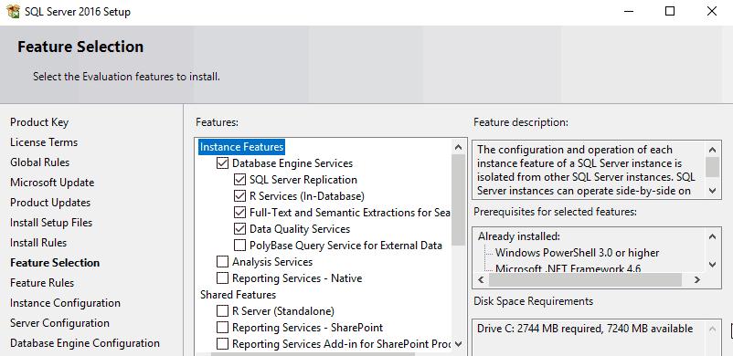 How to Install SQL Server 2016 on Windows Server 2016