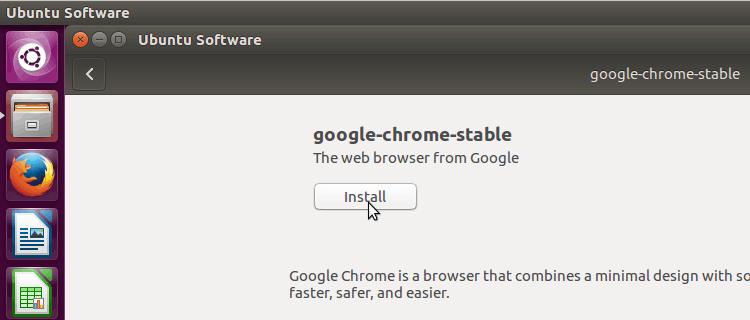 Install Google Chrome in Ubuntu 16.04