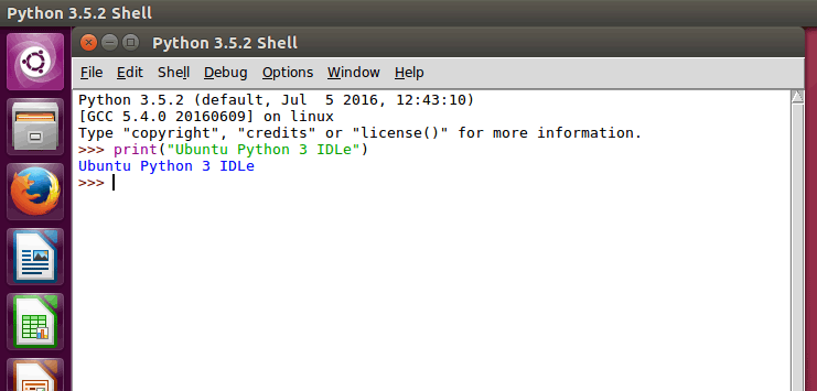 How to Install IDLE Python IDE on Ubuntu Desktop 16.04