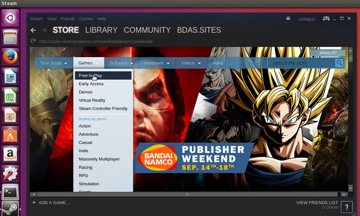 Install Steam on Ubuntu 16.04
