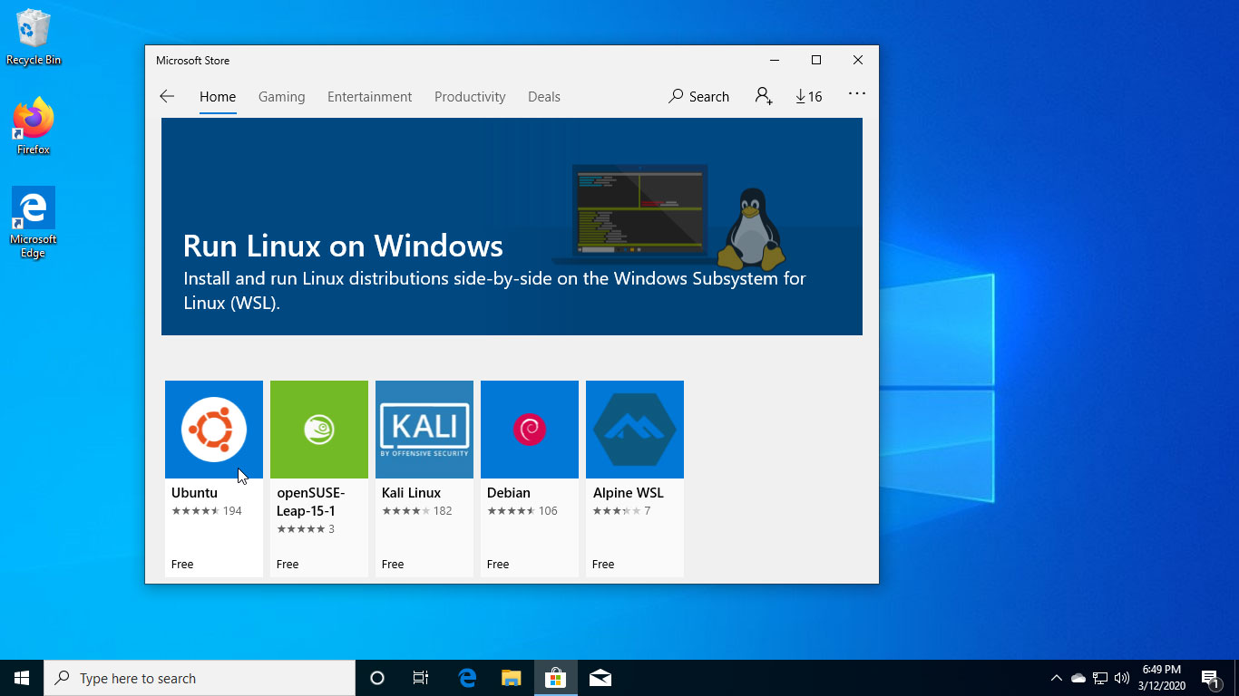 How to Install Ubuntu on Windows 10
