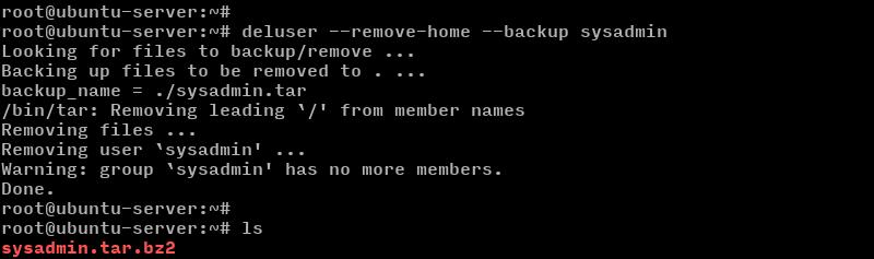 ubuntu delete user