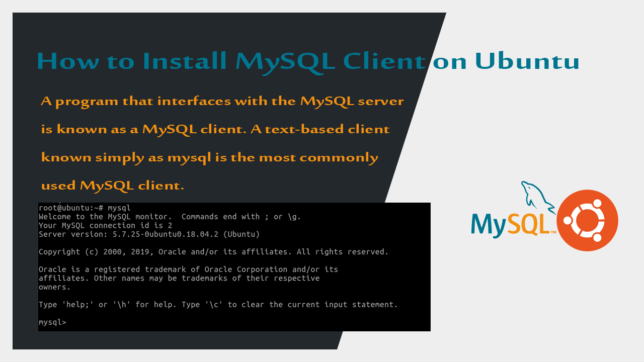 How to Install MySQL Client on Ubuntu