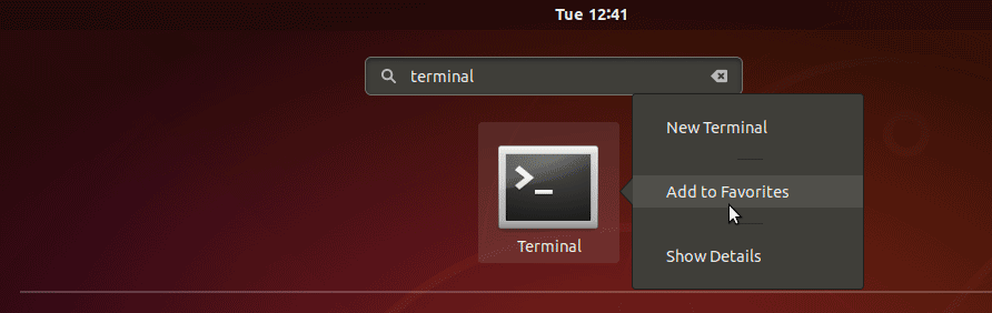 how to open command prompt in ubuntu