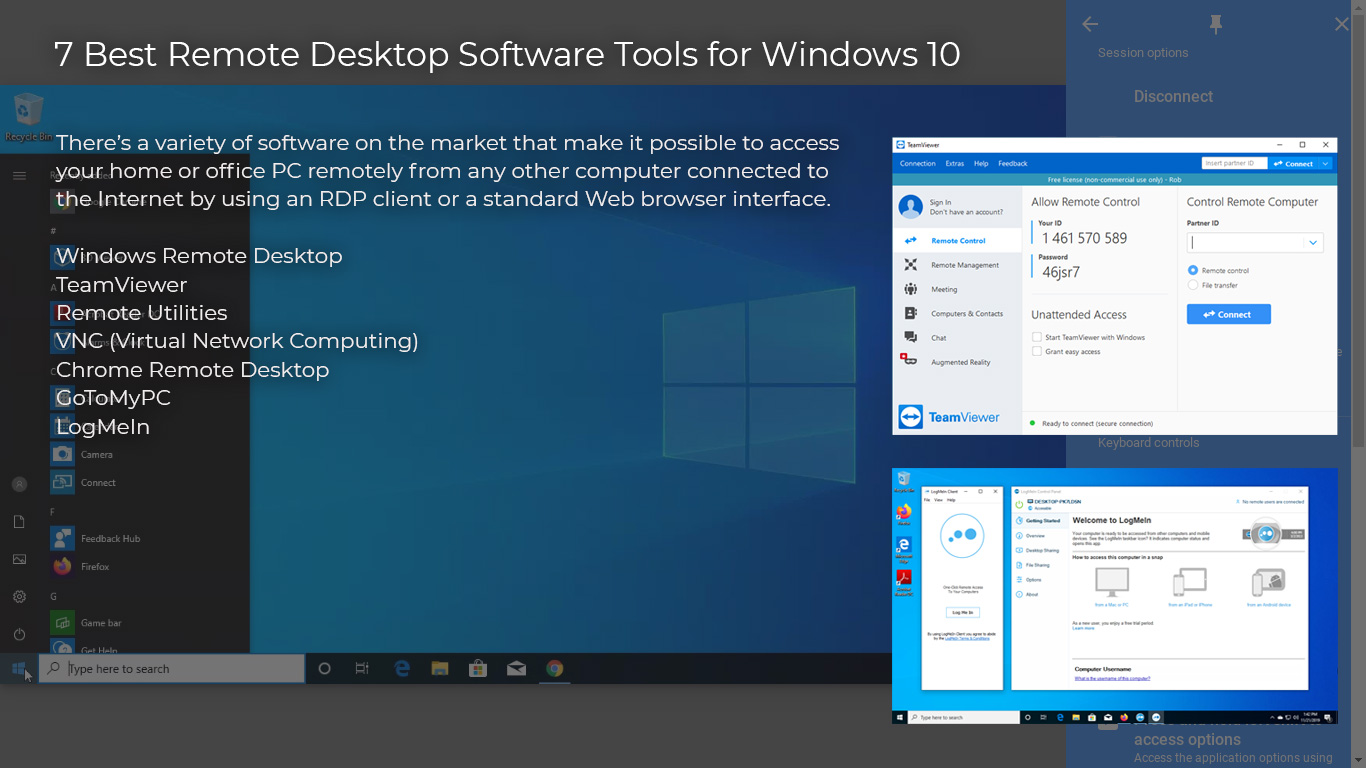 7 Best Remote Desktop Software Tools for Windows 10