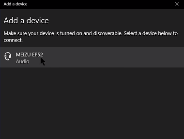Connect Bluetooth Headphones to Windows 10 PC