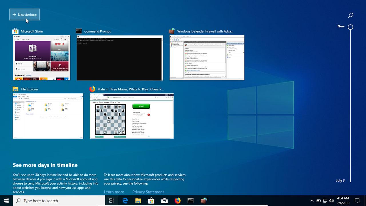 How To Use Multiple Desktops (Virtual Desktops) in Windows 10