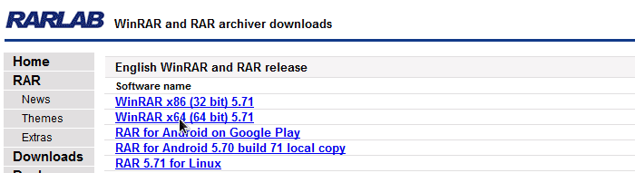 download winrar 64 bit for windows 10