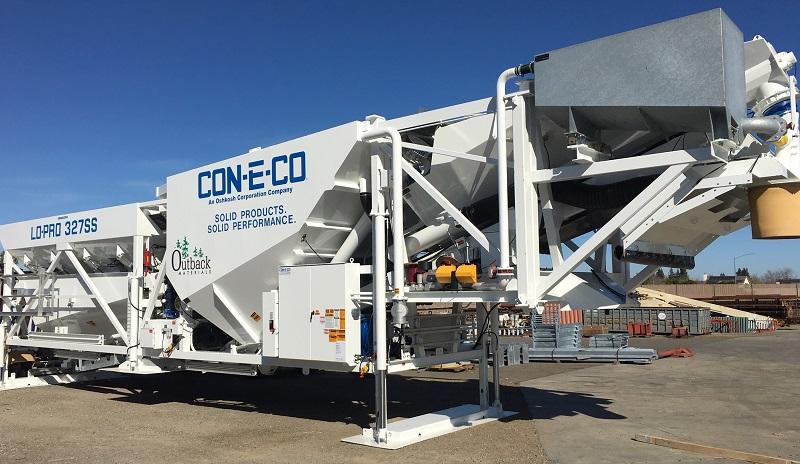 Mobile CON-E-CO 327S Batch Plant