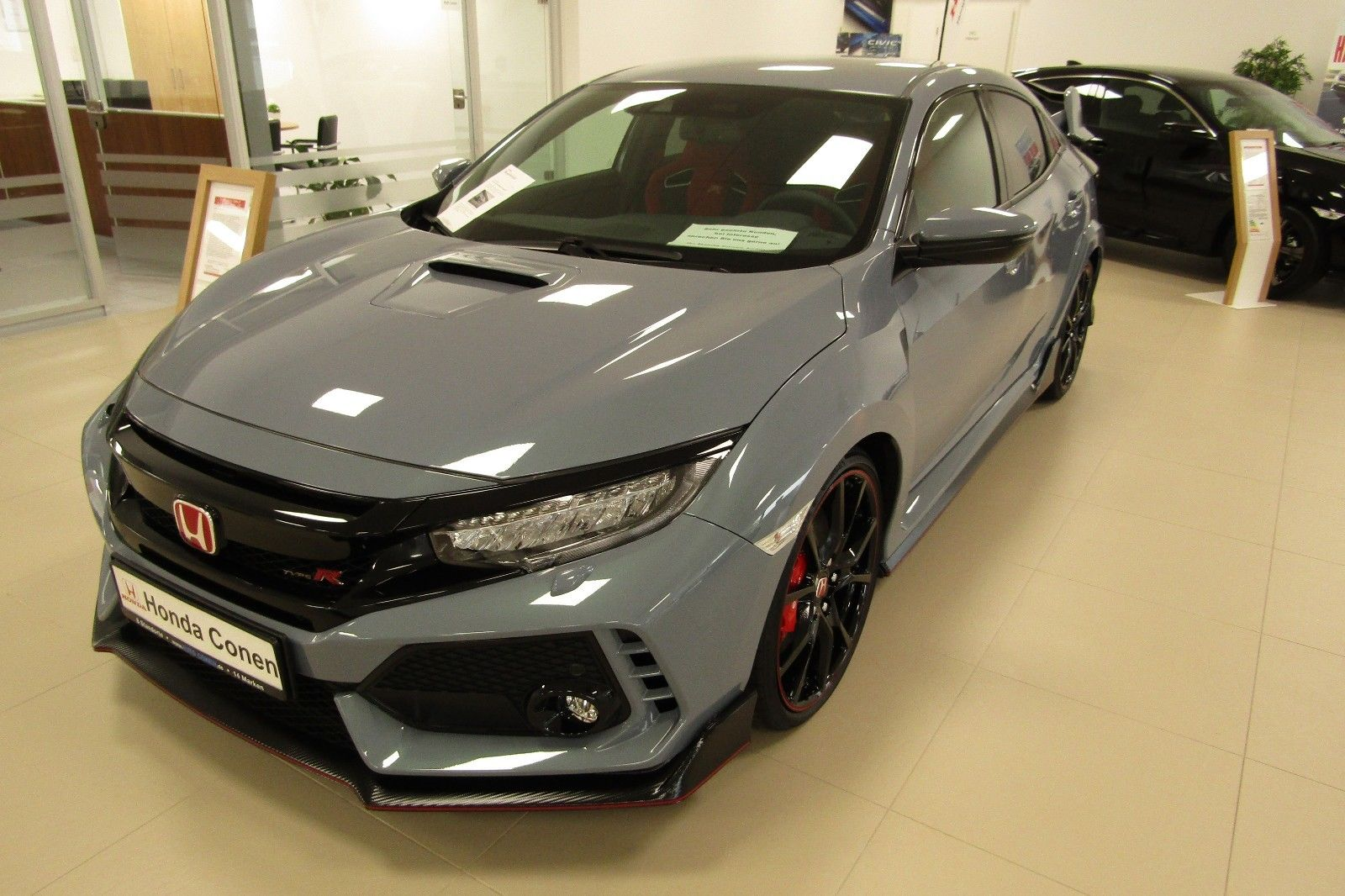 2019 HONDA CIVIC TYPE R GT Sonic Gray 音速灰