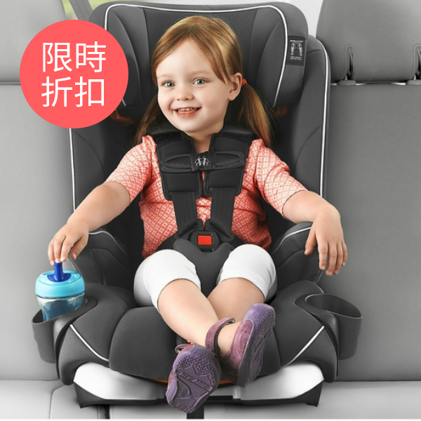 Chicco MyFit Harness Booster Car Seat - Gardenia紫