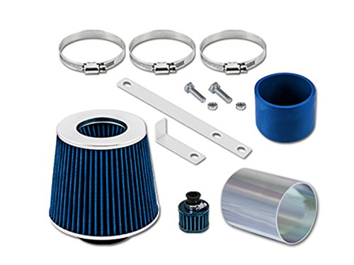 RL Concepts Blue Short Ram Air Intake Kit + Filter 92-98 Volkswagen Golf Jetta Passat Corrado 2.8 VR6