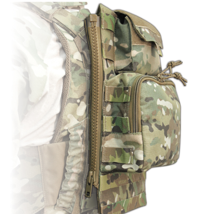 TYR Tactical® Standard Assaulters Zip On Platform 70 oz. Hydration Vertical
