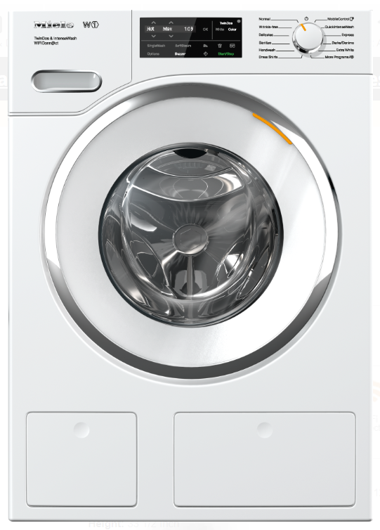 Miele  WWH860WCS 24 Inch Front Load Washer