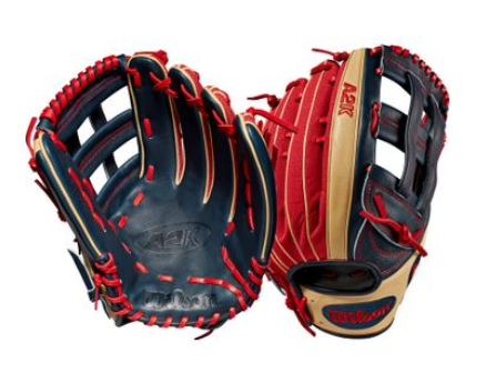 "Wilson A2K Series MB50 GM 12.75"" Baseball Glove"