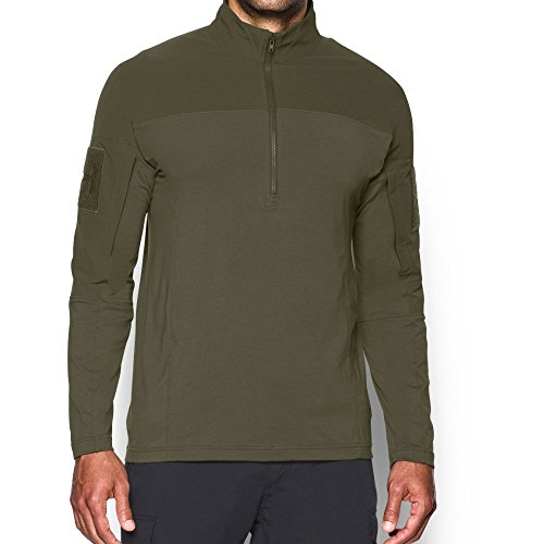 Under Armour Men's Tactical Combat Shirt, Marine Od Green/Marine Od Green, XX-Large