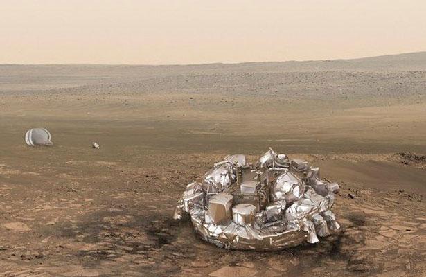 Reportan que la sonda Schiaparelli se habría estrellado en Marte