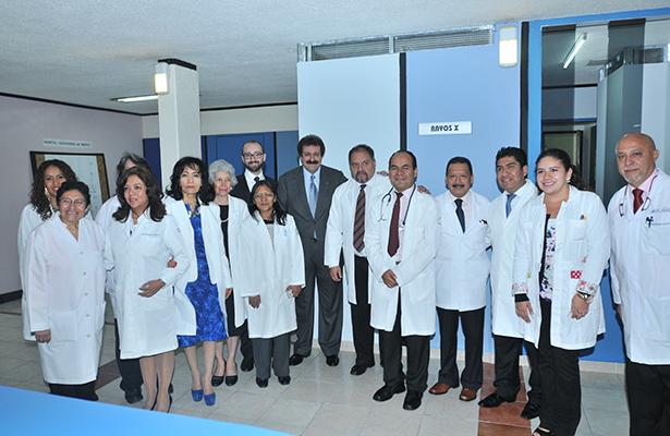 Reinauguran clínica de la Unión de Voceadores de México; OEM, presente