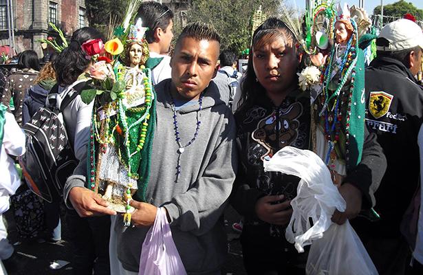 [Video] Fieles preparan celebración a San Judas Tadeo; habrá cortes viales
