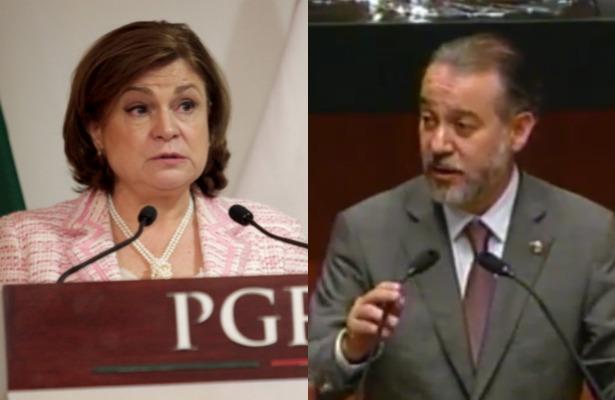 Peña Nieto envía nombramientos de Arely Gómez y Raúl Cervantes