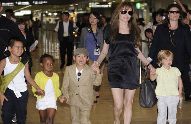 Brad Pitt cancela de última hora ida a concierto con sus hijos