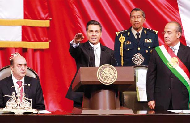 Enrique Peña Nieto rinde protesta como Presidente de México