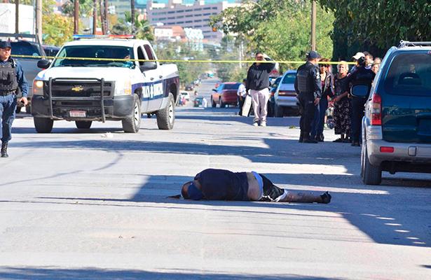 Con estos crímenes suman 64 asesinatos de forma violenta en solo 19 días del mes de octubre. Foto: Salvador Hernández