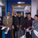 Corte de listón en la reinauguración de la Clínica de Atención Médica de la UEVPM. Foto: Cortesía