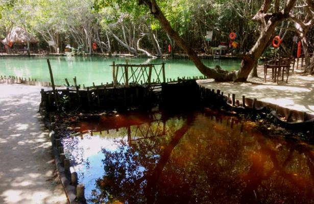 el corchito cenote y rio