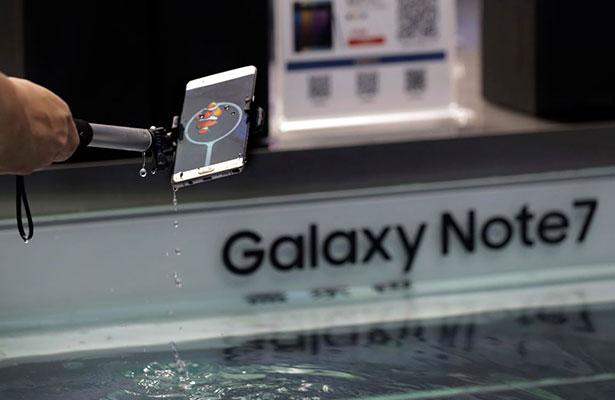 Samsung suspendió la producción de los Galaxy Note 7