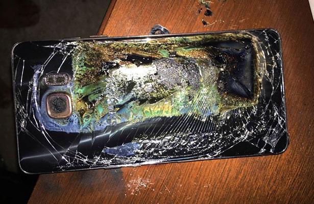 Por seguridad dejan de fabricar y vender el Galaxy Note 7