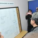 El Jefe Delegacional de Cuauhtémoc, Ricardo Monreal y Francisco Torres Vázquez. Foto: Omar Flores