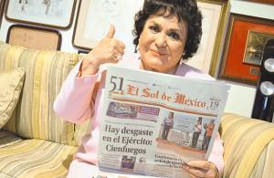 Carmen Salinas se une al Aniversario 51 de El Sol de México