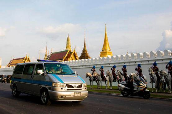 Cortejo fúnebre del Rey Rama IX / Foto AP