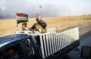 Tropas iraquies resguardan la zona aledaña a la central eléctrica