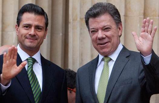 Anuncia Enrique Peña Nieto visita de Estado a Colombia